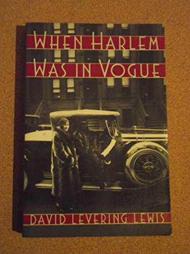 9780195059694: When Harlem Was in Vogue
