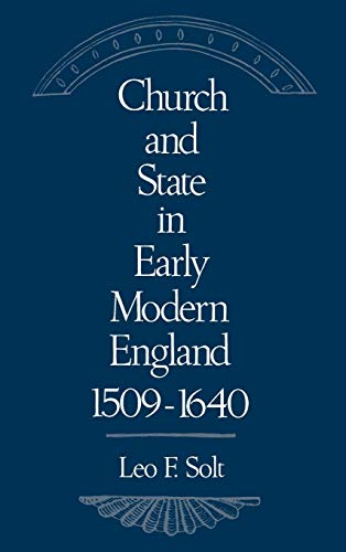 9780195059793: Church and State in Early Modern England, 1509-1640