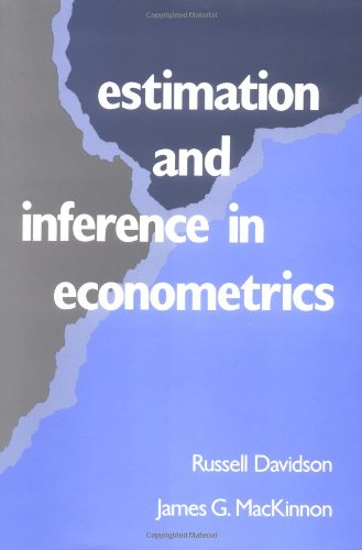 9780195060119: Estimation and Inference in Econometrics