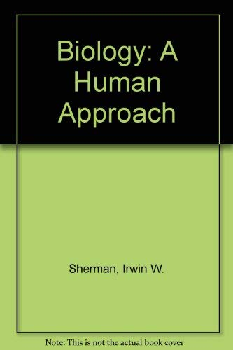 9780195060157: Biology: A Human Approach International Student Edition