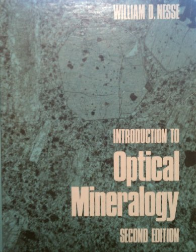 9780195060249: Introduction to Optical Mineralogy