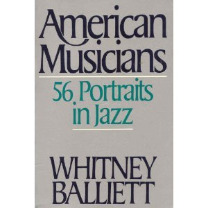 American Musicians: 56 Portraits in Jazz
