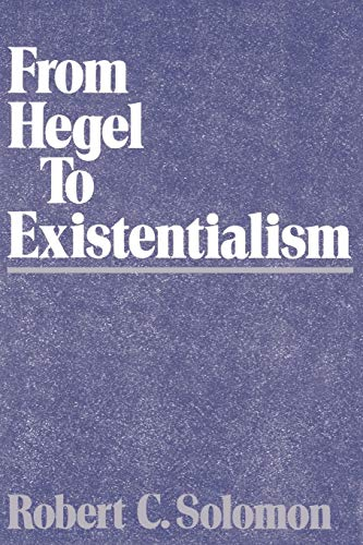 9780195061826: From Hegel to Existentialism