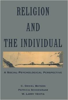 9780195062083: Religion and the Individual: A Social-Psychological Perspective