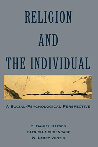 9780195062090: Religion and the Individual: A Social-Psychological Perspective