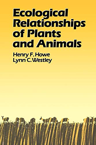 9780195063141: Ecological Relationships of Plants and Animals