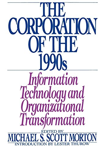 9780195063585: The Corporation of the 1990s: Information Technology and Organizational Transformation