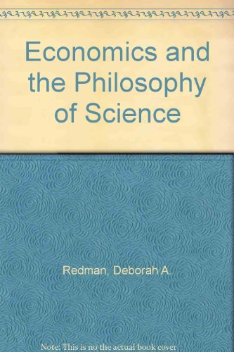 9780195064124: Economics and the Philosophy of Science