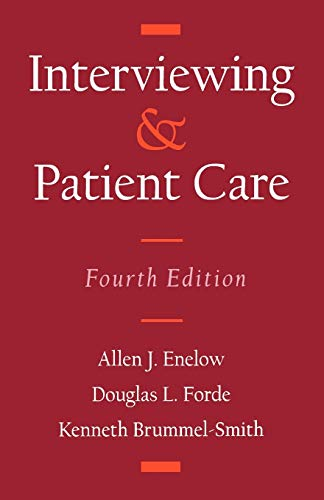 Interviewing & Patient Care (Fourth Edition): line figures and
