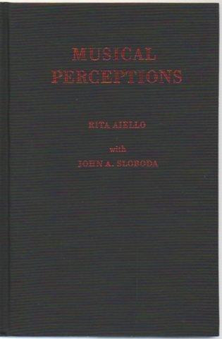 9780195064759: Musical Perceptions