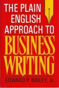 9780195064902: The Plain English Approach to Business Writing