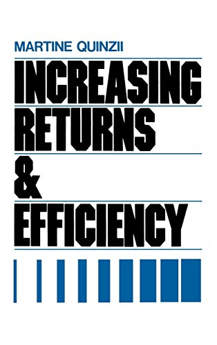 9780195065534: Increasing Returns and Economic Efficiency