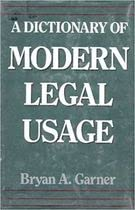 9780195065787: A Dictionary of Modern Legal Usage (Oxford Quick Reference)