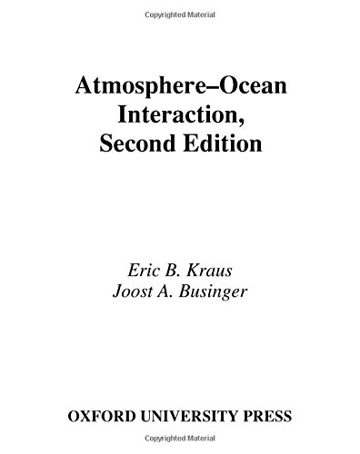 9780195066180: Atmosphere-Ocean Interaction (Oxford Monographs on Geology and Geophysics)