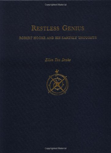 9780195066951: Restless Genius: Robert Hooke and His Earthly Thoughts