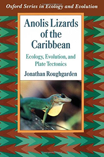 9780195067316: Anolis Lizards of the Caribbean: Ecology, Evolution, and Plate Tectonics (Oxford Series in Ecology and Evolution)
