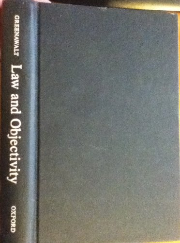 9780195067415: Law and Objectivity
