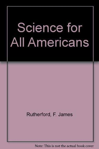 9780195067705: Science for All Americans