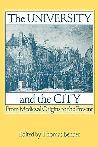 9780195067750: The University and the City: From Medieval Origins to the Present