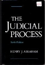 9780195068016: The Judicial Process: An Introductory Analysis of the Courts of the United States, England, and France