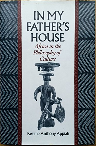 9780195068511: In My Fathers House: Africa in the Philosophy of Culture