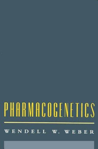9780195068788: Pharmacogenetics