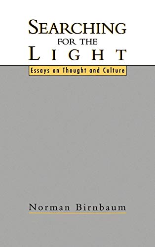 9780195068894: Searching for the Light: Essays on Thought and Culture