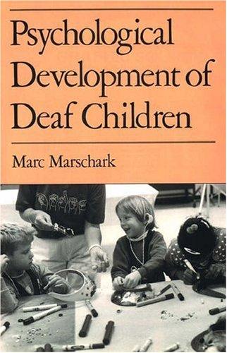 9780195068993: Psychological Development of Deaf Children