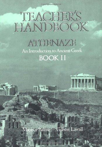 9780195069303: Athenaze: Teachers Handbook 2: Introduction to Ancient Greek