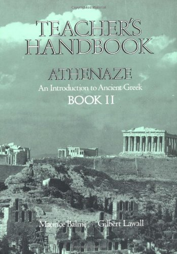 9780195069303: Teachers Handbook for Athenaze, Book 2