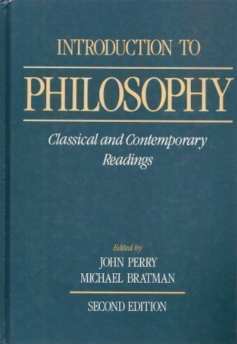 9780195069365: Introduction to Philosophy: Classical and Contemporary Readings