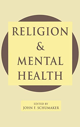 9780195069853: Religion and Mental Health