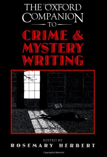 The Oxford Companion to Crime and Mystery Writing: Herbert, Rosemary