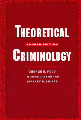 9780195073218: Theoretical Criminology
