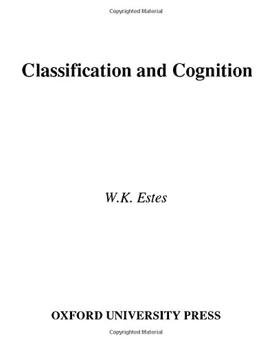 9780195073355: Classification and Cognition (Oxford Psychology Series)