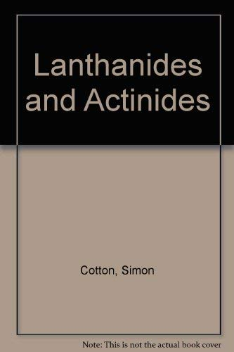 9780195073669: Lanthanides and Actinides