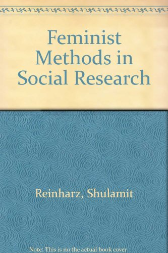 9780195073850: Feminist Methods in Social Research