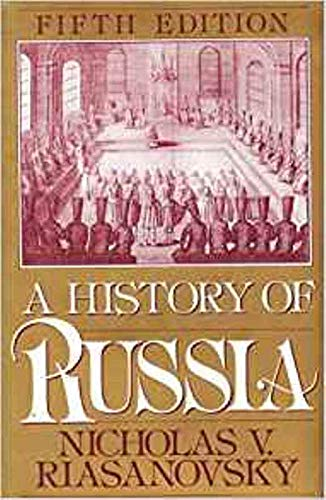 9780195074628: A History of Russia