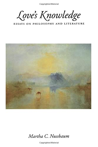 9780195074857: Love's Knowledge: Essays on Philosophy and Literature