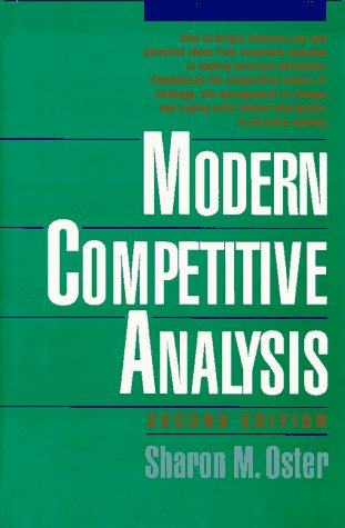 9780195075793: Modern Competitive Analysis