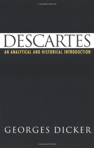 9780195075908: Descartes: An Analytical and Historical Introduction