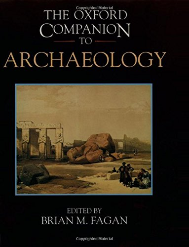 9780195076189: The Oxford Companion to Archaeology (Oxford Companions)