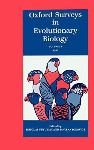 9780195076233: Oxford Surveys in Evolutionary Biology: Volume 8: 1992