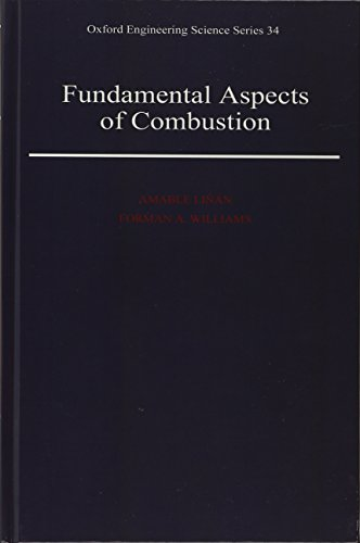 9780195076264: Fundamental Aspects of Combustion (Oxford Engineering Science Series)