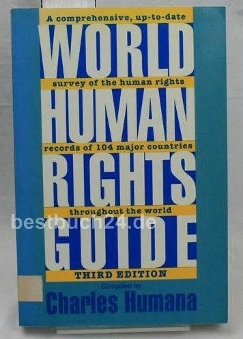 9780195076745: World Human Rights Guide