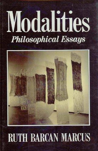 9780195076981: Modalities: Philosophical Essays