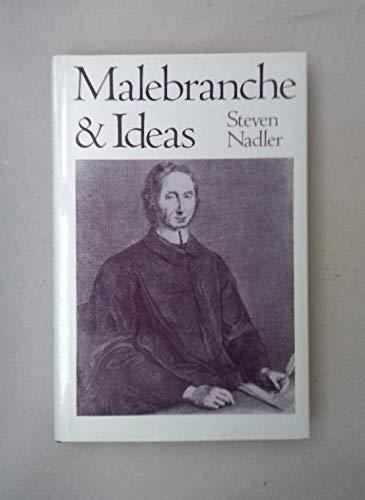 9780195077247: Malebranche and Ideas