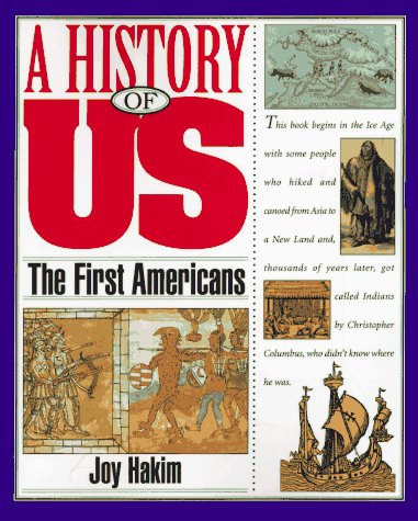 9780195077469: The First Americans (A History of US, Book 1)