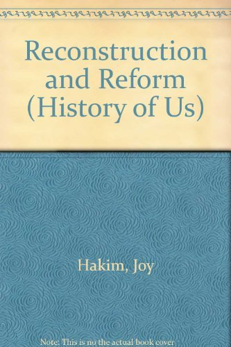 9780195077575: A History of US: Book 7: Reconstruction and Reform