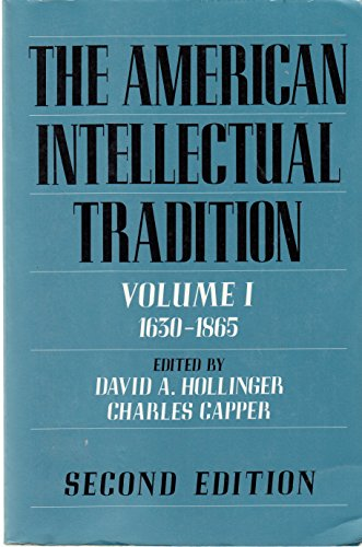 9780195077797: The American Intellectual Tradition: A Sourcebook Volume I: 1630-1865